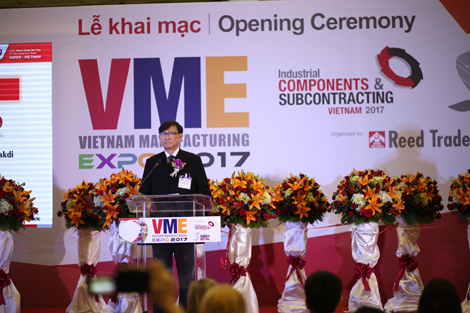 Vietnam Manufacturing Expo 2017 Start-ups Usher in New Phase of Manufacturing