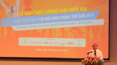 Microsoft Office Specialist World Championship 2015 Launched in Vietnam