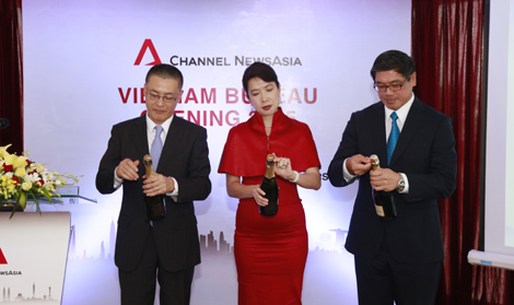 Channel NewsAsia celebrates official opening of its Vietnam news bureau in Hanoi