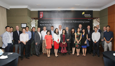 ICAEW Holds Chartered Accountant Meeting for First Time in Vietnam