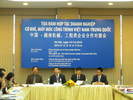 More Cooperation Opportunities for Vietnamese, Chinese Mechanical Companies