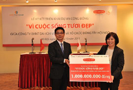 Dai-ichi Life Vietnam Provides Clean Water to Pupils in Rural Areas