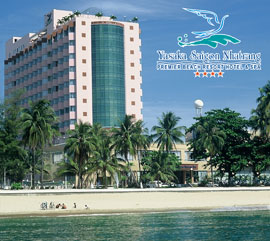 Yasaka Saigon Nhatrang Hotel: Symbol of the Beach City