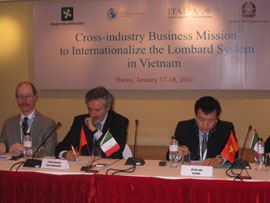 Italian Cross-industry Mission Searching for New Business Opportunities in Vietnam
