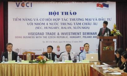 Many Opportunities for Vietnamese Businesses in Visegrad Market