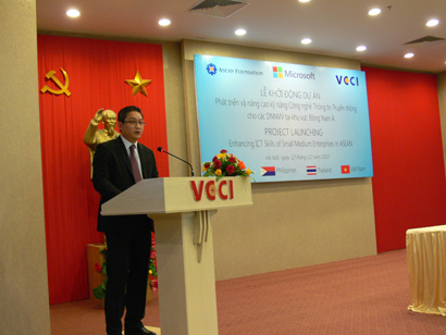 Microsoft, VCCI Support to Enhance ICT Skills of SMEs in ASEAN