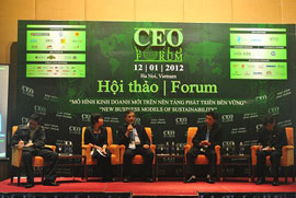 CEO World Forum 2012: New Business Models of Sustainability