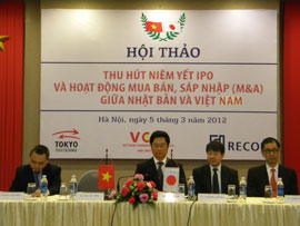 Prospects in IPO and M&A between Vietnam and Japan