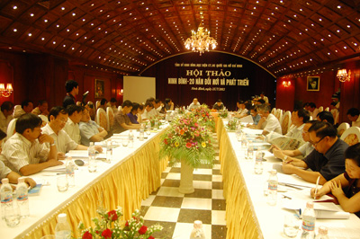 Ninh Binh : 20 Years of Outstanding Achievements