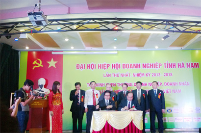 For the Development of Ha Nam Businesses