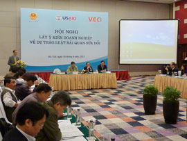 VCCI – Customs Sector Cooperation: For Development of Business Community