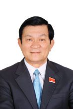 LETTER OF CONGRATULATIONS of President of the Socialist Republic of Vietnam To all members and the entire staff of Vietnam Chamber of Commerce and Industry