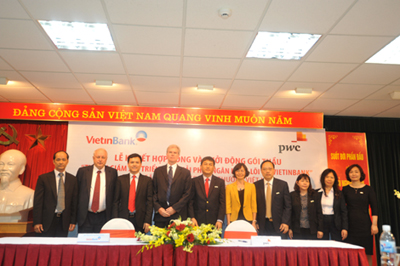 Vietinbank, PwC Sign Deal on Consultancy, Monitoring Services for Implementation of Core Banking