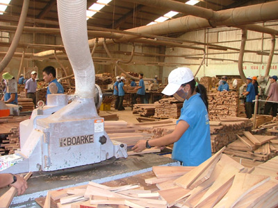 Vietnam Wood & Forest Products Expo 2013 to Open in Binh Dinh