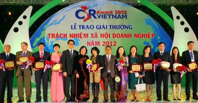 Corporate Social Responsibility Awards 2012