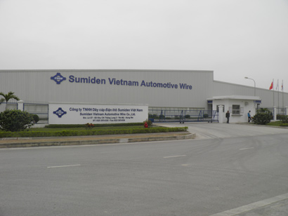 Sumiden Vietnam Automotive Wire Co., Ltd - Hung Yen Branch: Withstanding and Developing in Tough Time