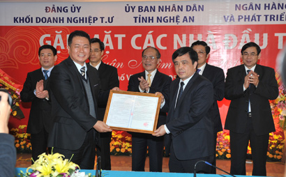 Nghe An Creating Strong Foundation for Economic Development