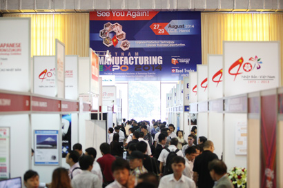 "Great Success from ""Vietnam Manufacturing Expo 2013"" – Largest Edition of the Show ever"