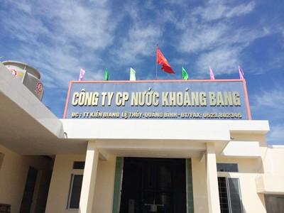 Bang Mineral Water: Quang Binh Sparkling Brand