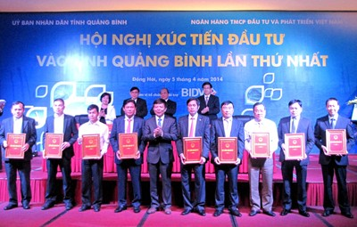 BIDV Quang Binh: Pioneer in Investment Promotion