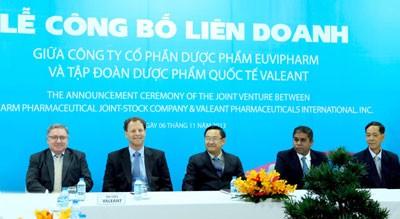 Valeant enters Vietnam pharmaceutical industry