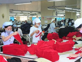 Vietnam Textile and Pressure to Boost Supporting Industries