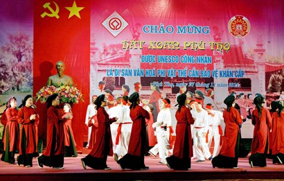 Xoan Singing of Phu Tho Province: Intangible Cultural Heritage