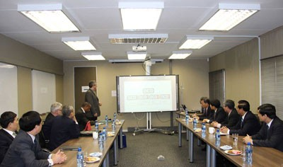 Vinh Phuc Promoting Investment in South Africa