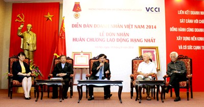 Vietnam Business Forum 2014: 10-year Milestone