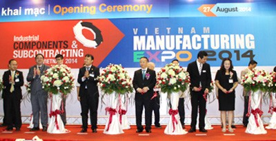 Vietnam Manufacturing Expo Empowers Supporting Industries