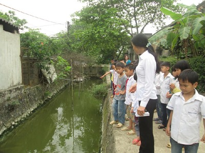 Over 1,600 Hanoi's Elementary Pupils Educated to Promote Awareness on Water Conservation