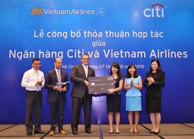 Citi Vietnam, VNA Announce Partnership Agreement