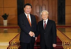 Chinese President Xi Jinping Visiting Vietnam