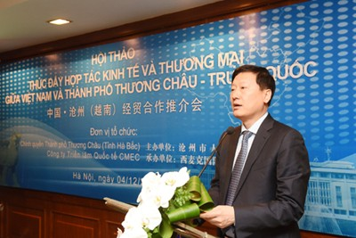 China Cangzhou Seeks Cooperation Opportunities in Vietnam