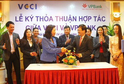 VCCI, VPBank Sign Comprehensive Strategic Partnership