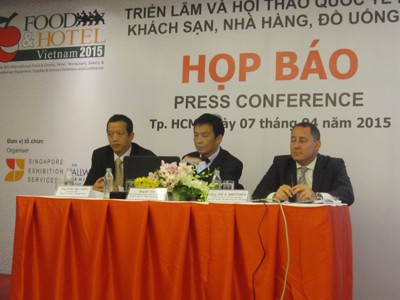 Five New Int'l Group Pavilions Participate in Food & Hotel Vietnam Exhibition 2015
