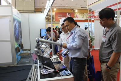 Focusing on Mold & Die Industry at Vietnam Manufacturing Expo 2015