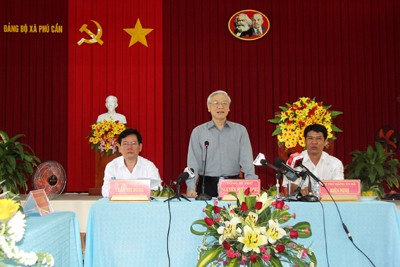 Tra Vinh Seeking Positive Methods in New Countryside Construction