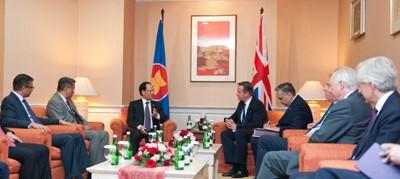 ASEAN, UK to Deepen Cooperative Relations
