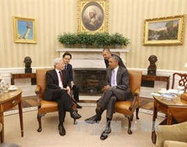 Party Leader Holds Talks with US President