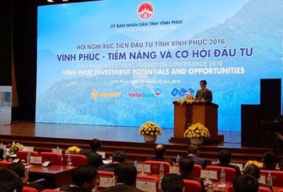 Vinh Phuc Holds Investment Promotion Conference 2016