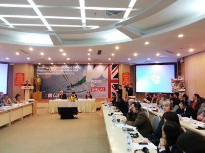 Vietnam-UK: Cooperation in Improving Product Quality and Food Safety