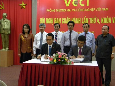 VCCI, HOSE Sign Cooperation Agreement
