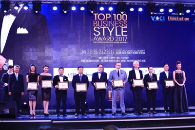 Top 100 Business Styles Honoured
