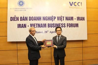 Vietnam – Iran: Joint Effort for US$2-billion Trade Value