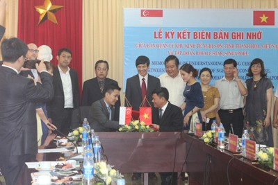 Nghi Son Economic Zone and Thanh Hoa Industrial Zones Authority: Accompanying Investors