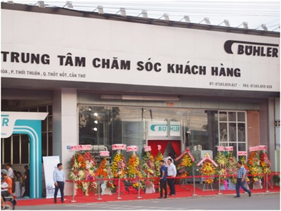 Buhler Asia Vietnam Opens Showroom and Customer Care Centre in Can Tho
