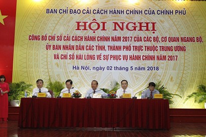 Quang Ninh, SBV Top Administrative Reform Index in 2017