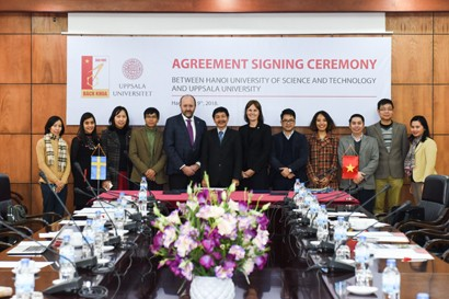Hanoi University of Science and Technology Strengthening Cooperation with Swedish Partners