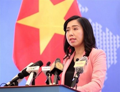 Spokesperson of the Vietnamese Foreign Ministry Le Thi Thu Hang